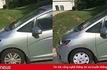 Chán đi làm, thanh niên Photoshop ảnh xe của mình bị thủng lốp để xin nghỉ