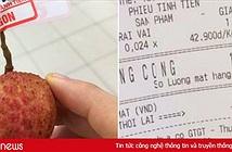 Nam thanh niên lầy lội vào siêu thị chỉ mua 1 quả vải, thanh toán 1.030 đồng làm dân mạng cười ra nước mắt