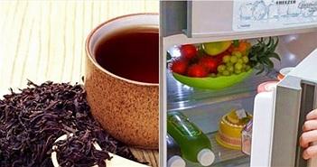 Mẹo khử mùi hôi tủ lạnh bằng những nguyên liệu quen thuộc