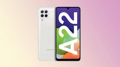 Samsung chính thức ra mắt Galaxy A22 camera chống rung quang học OIS giá 5,9 triệu