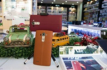 [Hình ảnh] LG G4 bản da màu đỏ