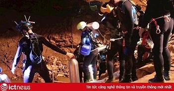 """Mạng Wi-Fi đã hỗ trợ giải cứu Đội bóng """"Lợn Hoang"""" của Thái Lan từ hang Tham Luang như thế nào?"""