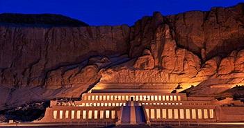 """Lăng mộ nữ hoàng Ai Cập quyền lực đẹp bất chấp dù bị """"con ghẻ"""" phá hoại"""