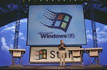 Hôm nay Windows 95 tròn 20 tuổi (24/8/1995 - 24/8/2015)