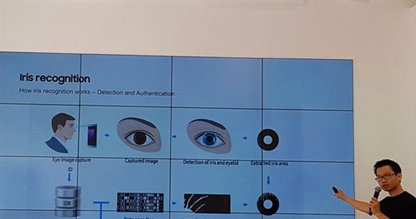 [Galaxy Note 7] Tính năng quét mống mắt trên Galaxy Note 7: Mắt cận, viễn, đeo kính râm có quét được không?