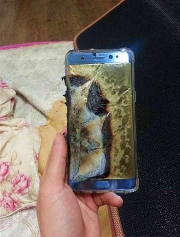 [Galaxy Note 7] Ghi nhận trường hợp chiếc Galaxy Note 7 đầu tiên bị phát nổ