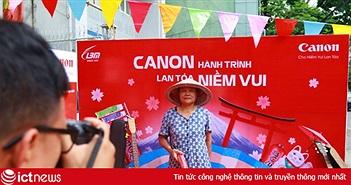 Canon tổ chức chuyến xe xuyên Việt, hướng dẫn chụp ảnh