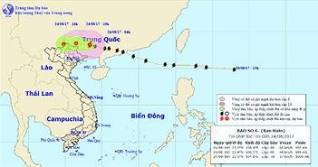 Bão số 6 suy yếu thành một vùng áp thấp, Bắc Bộ tiếp tục mưa lớn