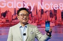 Samsung Galaxy Note8 mở bán từ giữa tháng 9/2017, có 4 màu