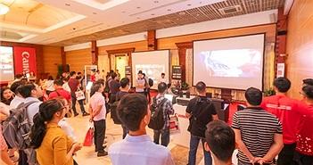 Canon trình diễn những máy chiếu đỉnh nhất tại Hà Nội