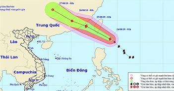 Bão Bailu cuồn cuộn áp sát Biển Đông, Hà Tĩnh - Quảng Trị mưa lớn