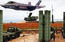 Nóng: Phòng không S-400 Nga đặt tại Hmeimim tóm sống tiêm kích F-35 của Anh