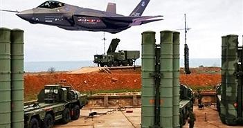 """Nóng: Phòng không S-400 Nga đặt tại Hmeimim """"tóm sống"""" tiêm kích F-35 của Anh"""