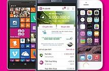 MoMo đứng tốp 2 ứng dụng miễn phí  trên kho Apple