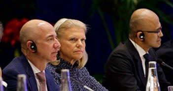 Chủ tịch Trung Quốc Tập Cận Bình gặp gỡ CEO Facebook, Apple, Microsoft