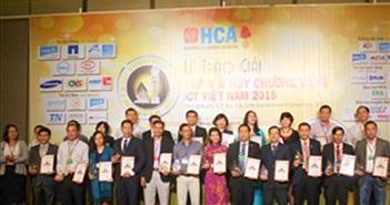 Trao giải Huy chương vàng và Top 5 CNTT-TT Việt Nam 2015