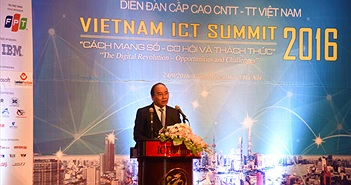 Vietnam ICT Summit 2016 khai mạc trọng thể tại Hà Nội