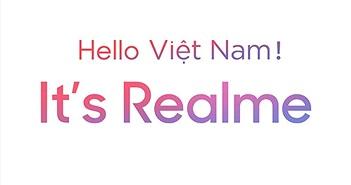 Thương hiệu điện thoại Realme chính thức có mặt tại Việt Nam