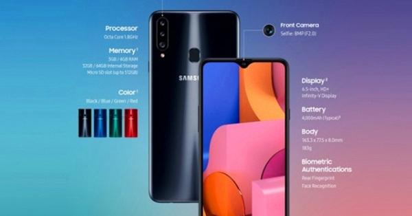 Samsung lặng lẽ giới thiệu Galaxy A20s, khuấy đảo thị trường giá rẻ