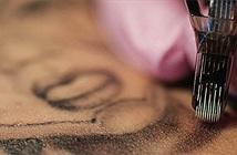 Xăm hình có thể để lại niken và crôm trong các hạch bạch huyết