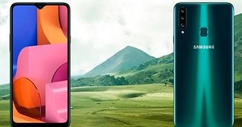 Galaxy A20s ra mắt: 3 camera sau, màn hình 6.5 inch, pin 4.000mAh