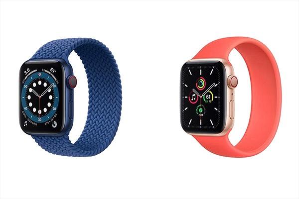 Giá bán Apple Watch Series 6 và Apple Watch SE tại Việt Nam