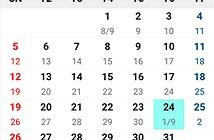 Cách tính tháng nhuận âm lịch