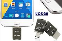 Ổ USB xoay 360 độ, tích hợp đồng thời 2 chuẩn kết nối