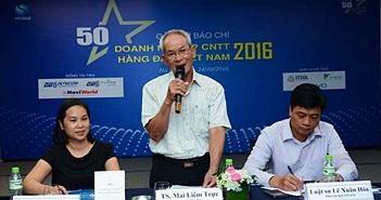 """Công bố  """"50 Doanh nghiệp CNTT hàng đầu Việt Nam 2016"""""""