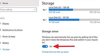 Tự động xóa file trong thư mục Downloads và Recycle Bin sau 30 ngày trên Windows 10