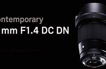 Hình ảnh đầu tiên về ống kính Sigma 16mm F1.4 DC DN cho Sony E-Mount