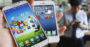 Apple và Samsung quay lại vụ kiện bản quyền công nghệ
