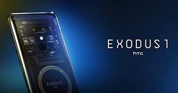 HTC Exodus 1 có giá 0.15 Bitcoin tương đương với iPhone XS