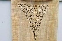 Lá bùa chữa sốt rét của người La Mã cổ