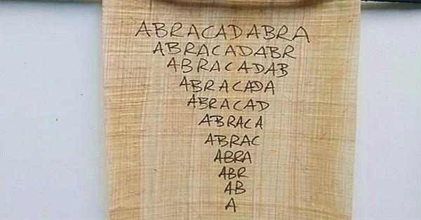 """Lá bùa """"chữa"""" sốt rét của người La Mã cổ"""