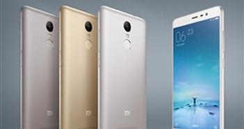Xiaomi trình làng Redmi Note 3 giá rẻ, có cảm biến vân tay