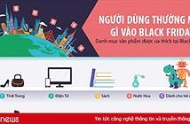 Black Friday: Lưu lượng truy cập đến các website mua sắm tăng vọt