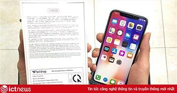 iPhone X nhập khẩu chính ngạch về Việt Nam, giá từ 29,99 triệu đồng