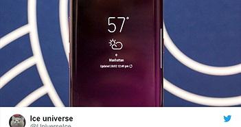 """Màn hình """"nốt ruồi"""" sắp ra mắt trên smartphone Galaxy mới"""