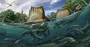 Spinosaurus - loài khủng long kỳ cục: săn cá như thần mà không thể bơi lội!