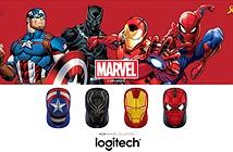 Logitech ra mắt bộ sưu tập chuột không dây M238 phiên bản Marvel