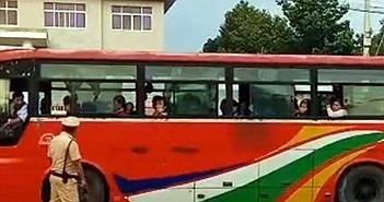 Tiền Giang xử lý tài xế nhục mạ, đe dọa cảnh sát giao thông