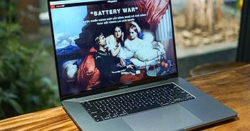 Trên tay MacBook Pro 16inch viền màn hình mỏng