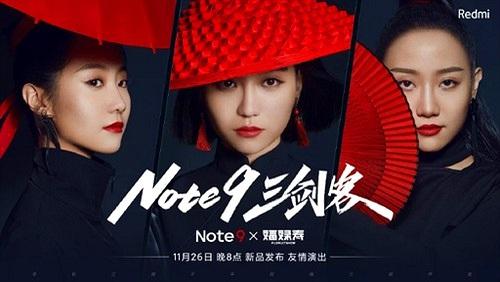 Redmi Note 9 5G camera 108MP ra mắt cùng ban nhạc Florist Show vào 26/11