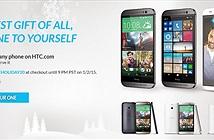 Giảm giá 20% khi mua sản phẩm trên trang chủ HTC
