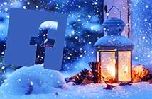 Facebook Messenger làm hiệu ứng tuyết rơi mùa Giáng sinh