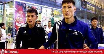 ĐT Triều Tiên đến Hà Nội, chuẩn bị cho trận giao hữu với ĐT Việt Nam vào ngày mai