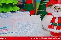 Những bức thư viết cho ông già Noel của trẻ em khiến người đọc cảm động