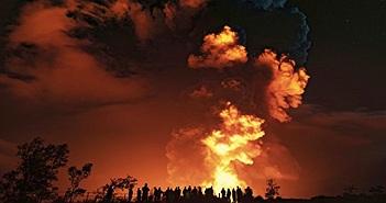Núi lửa phun trào trên đảo Lớn của Hawaii