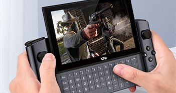 GPD Win 3: gaming laptop cầm tay, tích hợp nút bấm và bàn phím trượt